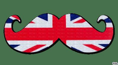 moustache swag drapeau anglais london picmix. Black Bedroom Furniture Sets. Home Design Ideas