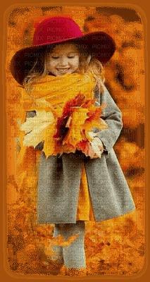 autumn, girl