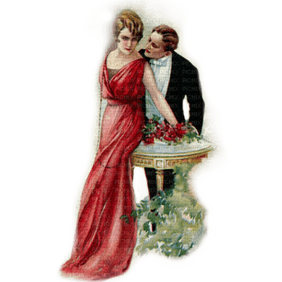 victorian vintage couple paintinglounge