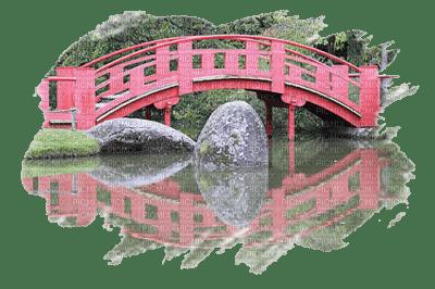 Paysage pont japonnais