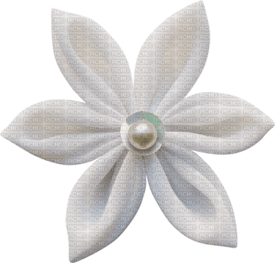 Kaz_Creations Deco Scrap Flower White