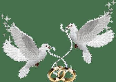 Doves Wedding Rings Deco Doves Wedding