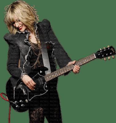 Kaz_Creations Woman Femme Guitar