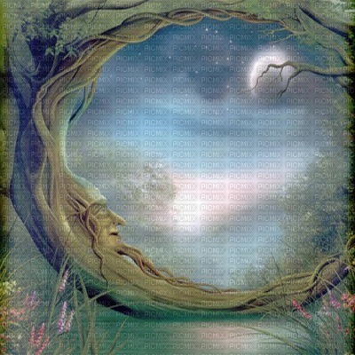 moon  fantasy fond lune