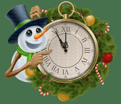 clock new year   horloge nouvel an