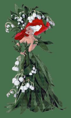 flower woman femme muguet