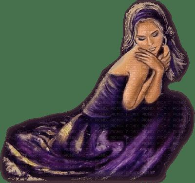 femme violet.