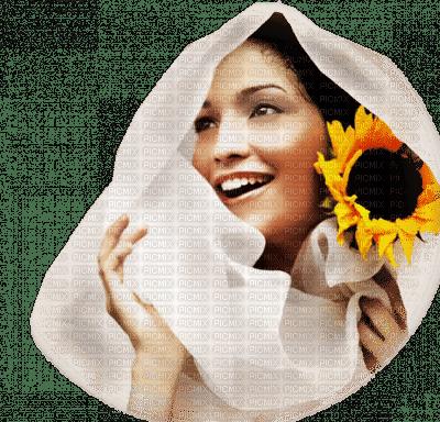 femme tournesol woman sunflower