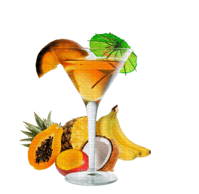 fruit juice-exotic-Cocktail
