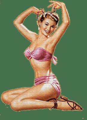 summer vintage pinup femme