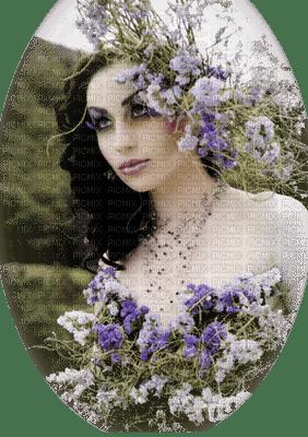 femme fleurs woman flowers