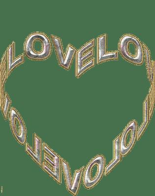 heart love text coeur