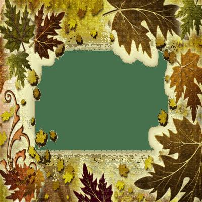 automne feuilles cadre autumn leaves frame
