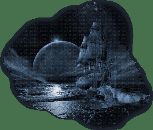 paysage, nature,luna,  brigue gothique,Pelageya