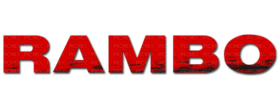 rambo movie logo