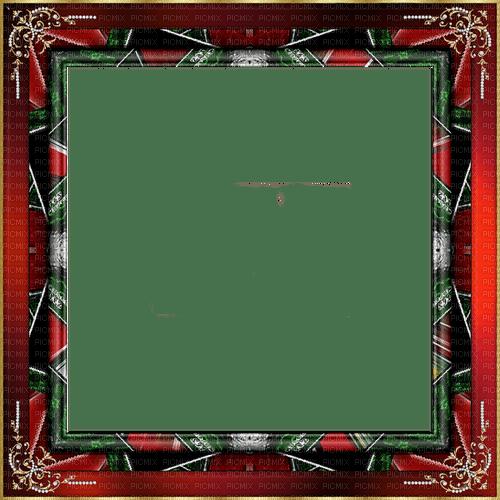 frame, frame, retro, Deco, black, red, Orabel