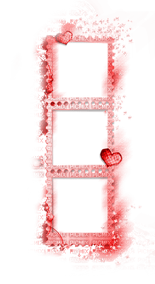 cadre rouge red frame border deco