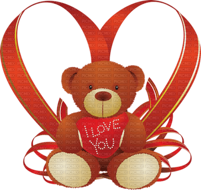 Kaz_Creations Heart Hearts Love Valentine Valentines Teddy