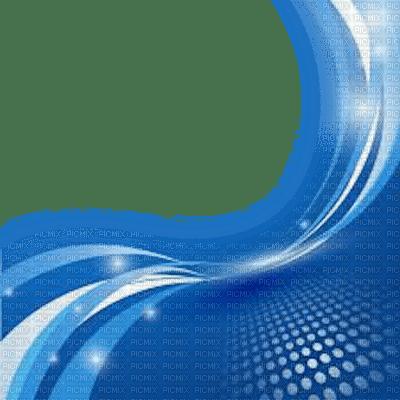 blue frame deco cadre bleu