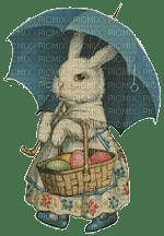easter bunny umbrella vintage lapin pâques parapluie