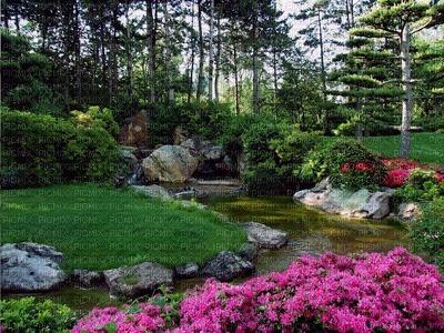 japanese garden fond laurachan