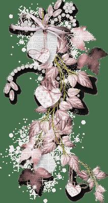 Déco fleurs pastel mauve