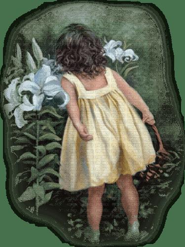 child summer garden enfant êtê jardin