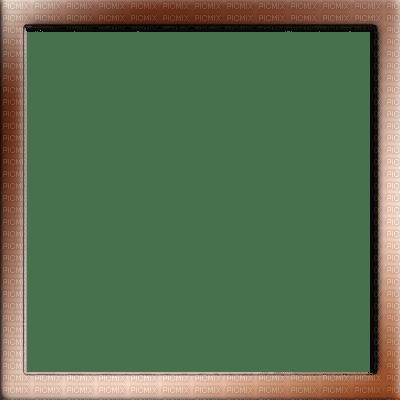 Copper Brown Square Frame, cadre, brown, marron, framework - PicMix