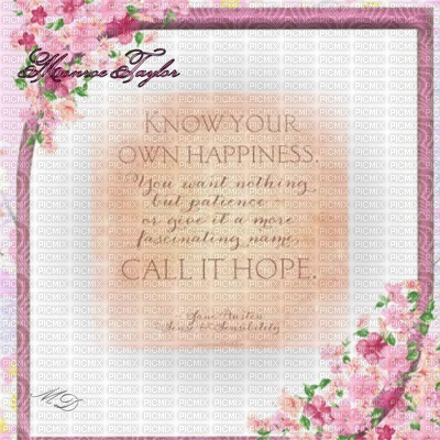 Call It Hope Jane Austen Quote Call It Hope Pink Pink
