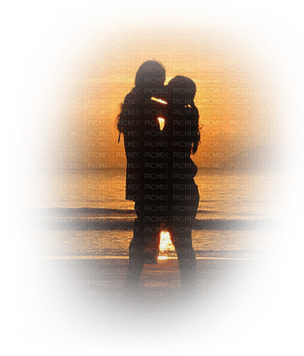 couple sunset bp
