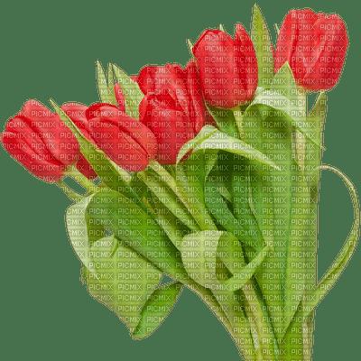 image encre couleur printemps coin fleurs tulipes edited by me