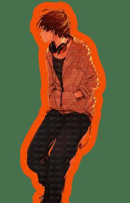 Anime Boy  [Orange-Frame]