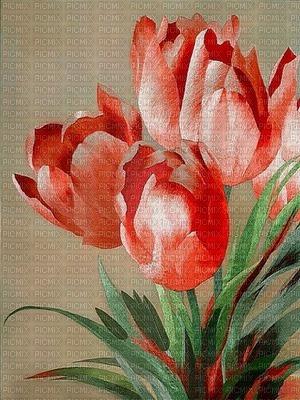 image encre couleur fleurs printemps tulipes anniversaire edited by me