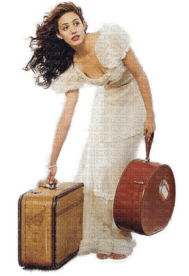 Fille.Girl.Vintage.valise.Suitcase.chica.maleta.Femme.Woman.Victoriabea.