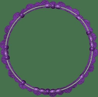 frame-round-purple
