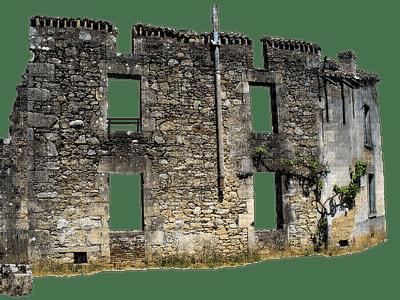 France, ruins, rauniot