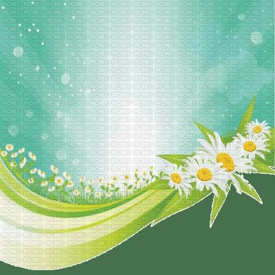 spring flower bg border printemps fleur fond bordure