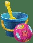 Kaz_Creations Deco Beach Bucket and Ball