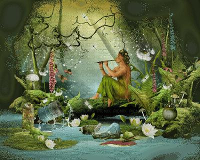 fairy green garden- feerie vert jardin