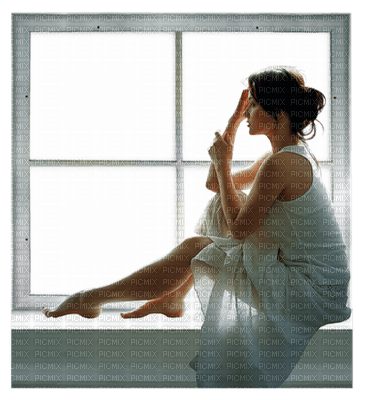woman at window bp