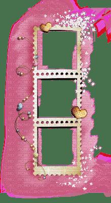 (✿◠‿◠) Love Pink Heart Frame (◡‿◡✿) SerenaSerenity