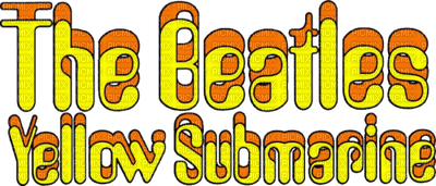 the  beatles yellow submarines text