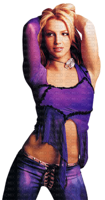 Kaz_Creations Woman Femme Britney Spears Singer Music Purple