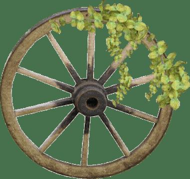 roue jardin deco wheel garden