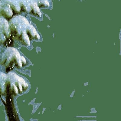 VINTAGE PINE TREE WINTER