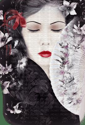 visage femme asia