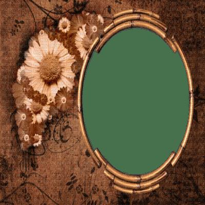 vintage picture frame bilderrahmen cadres wood holz bois frame cadre rahmen  bild image tube brown fond background
