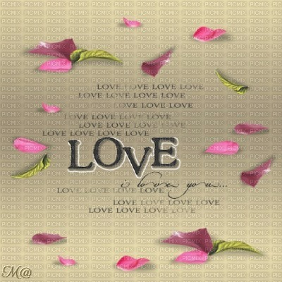 Bg-BEIGE-TEXT_LOVE_PETAL