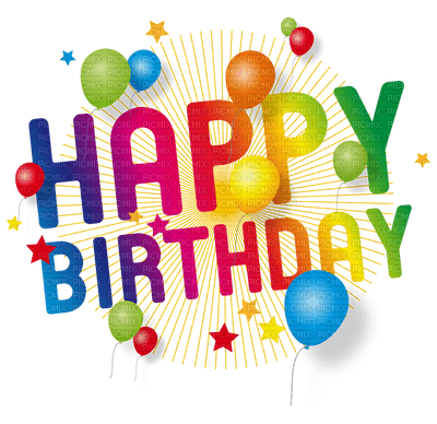 Kaz Creations Happy Birthday Text