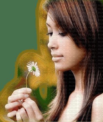 femme marguerite woman daisy flower